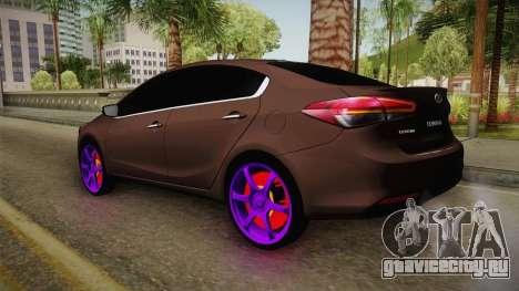 Kia Cerato Eccentric для GTA San Andreas вид справа