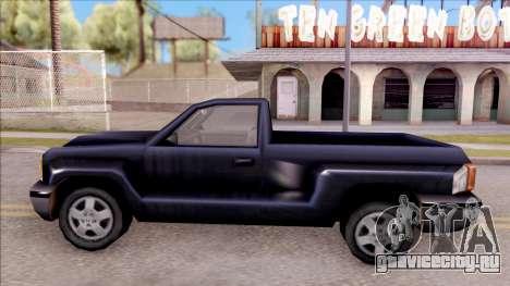 Bobcat from GTA 3 для GTA San Andreas вид слева
