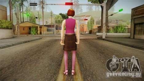 Bethany Jones from Bully Scholarship для GTA San Andreas третий скриншот