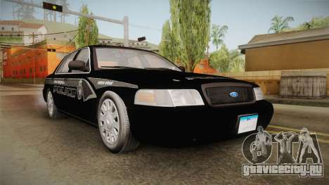 Ford Crown Victoria PI Stealth YRP для GTA San Andreas