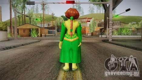 Princess Fiona Ogre для GTA San Andreas третий скриншот