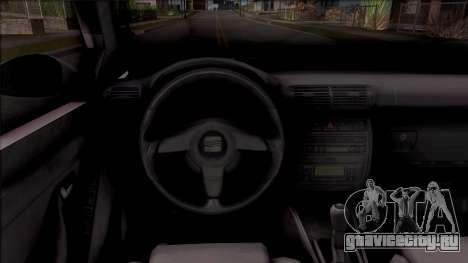 Seat Toledo 1.9 TDi для GTA San Andreas вид изнутри