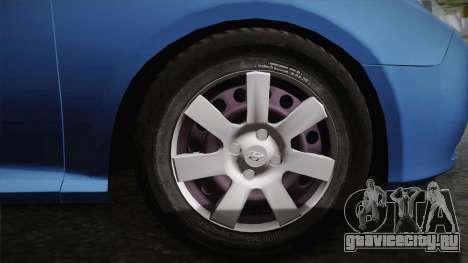 Hyundai Elantra 2008 для GTA San Andreas вид изнутри