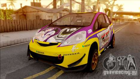 Honda Jazz RS W Rize Tedeza Itasha для GTA San Andreas