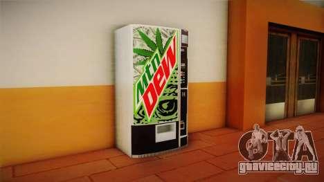 Новые торговые автоматы с Mountain Dew для GTA San Andreas