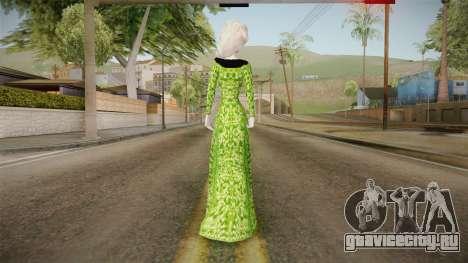 Elsa Military Skin для GTA San Andreas третий скриншот