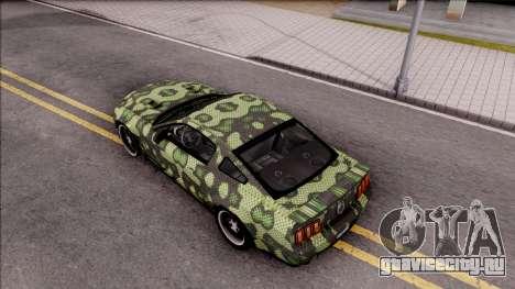 Ford Mustang Shelby GT500KR Super Snake v2 для GTA San Andreas вид сзади