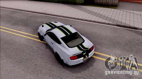 Ford Mustang 2015 Need For Speed Payback Edition для GTA San Andreas вид сзади