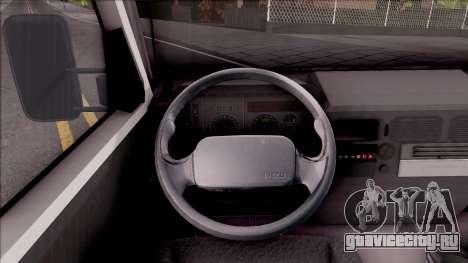 Zastava Daily 35 Transporter для GTA San Andreas вид изнутри