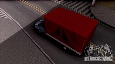 Zastava Daily 35 T для GTA San Andreas вид сзади