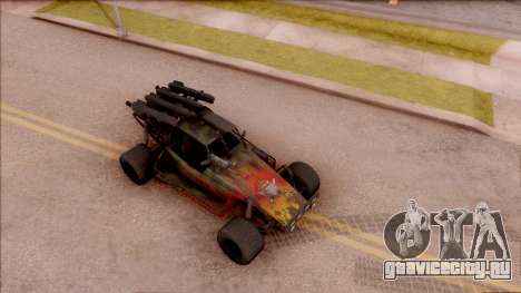 Chenowth FAV from Mercenaries 2: World in Flames для GTA San Andreas вид справа