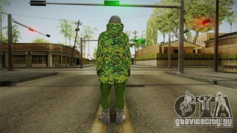 Gunrunning DLC Male Skin для GTA San Andreas третий скриншот