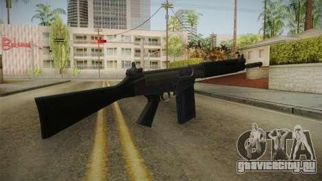 FN FAL Short Barrel для GTA San Andreas второй скриншот