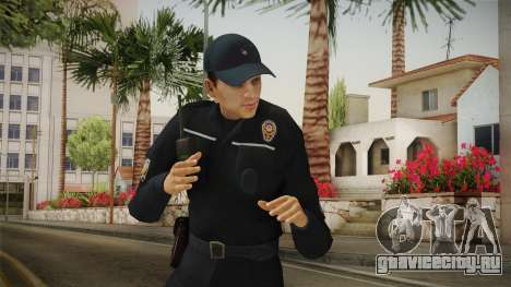 Turkish Police Officer Long Sleeves v2 для GTA San Andreas