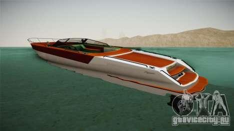 GTA 5 Speeder для GTA San Andreas вид слева