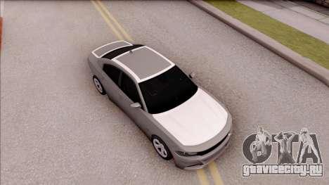 Dodge Charger RT 2016 для GTA San Andreas вид справа