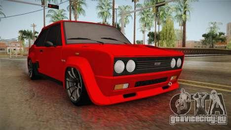Fiat 131 Abarth для GTA San Andreas вид справа
