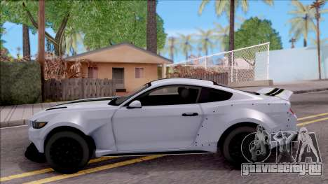 Ford Mustang 2015 Need For Speed Payback Edition для GTA San Andreas вид слева