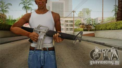 M16A1 Assault Rifle для GTA San Andreas