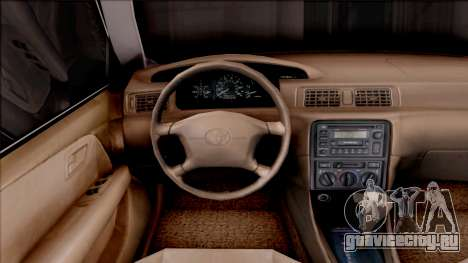 Toyota Camry 2002 для GTA San Andreas вид изнутри