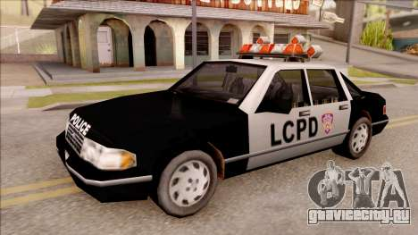 Police Car from GTA 3 для GTA San Andreas