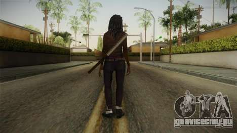 The Walking Dead: No Mans Land - Michonne для GTA San Andreas третий скриншот