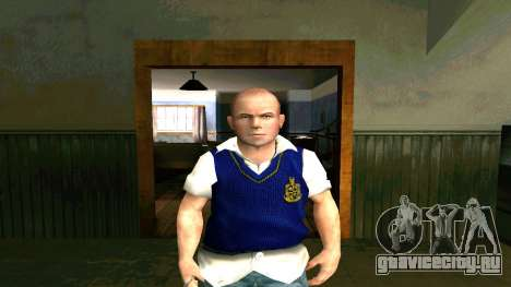 Skin HD Jimmy Hopkins (Bully) для GTA San Andreas