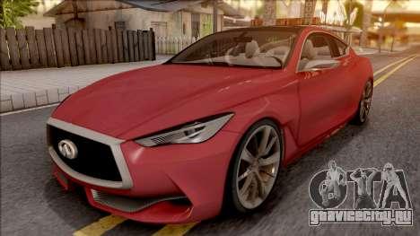 Infiniti Q60 для GTA San Andreas