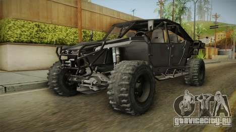 Ghost Recon Wildlands - Unidad AMV No Minigun v1 для GTA San Andreas вид справа