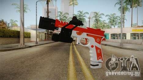 Gunrunning Pistol v2 для GTA San Andreas
