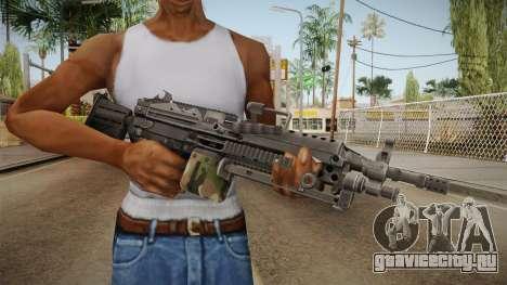 M249 Light Machine Gun v3 для GTA San Andreas третий скриншот