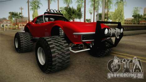 Chevrolet Corvette C2 Stingray Off Road для GTA San Andreas вид справа