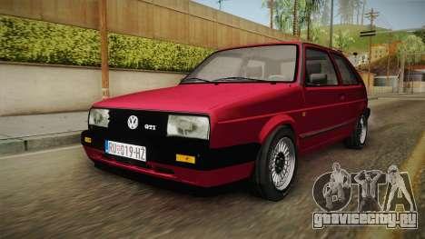 Volkswagen Golf Mk2 J для GTA San Andreas