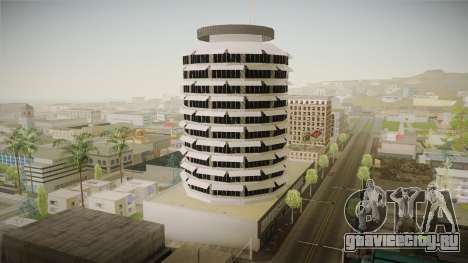 LS_Capitol Records Building v2 для GTA San Andreas второй скриншот
