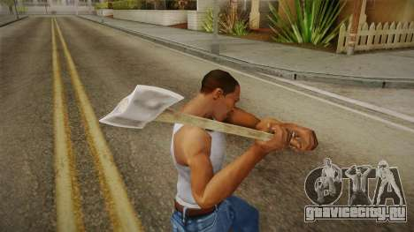 Friday The 13th - Jason Voorhees (Part IX) Axe для GTA San Andreas