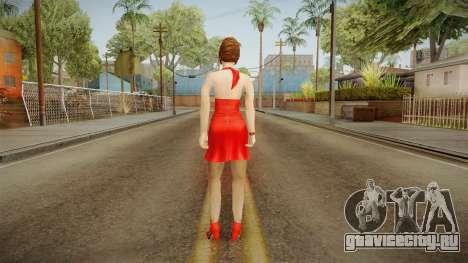 Ms. Phillips Date from Bully Scholarship для GTA San Andreas третий скриншот