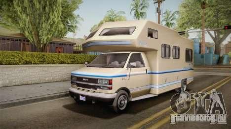 GTA 5 Brute Camper IVF для GTA San Andreas