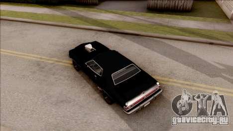 Ford Gran Torino 1975 для GTA San Andreas вид сзади