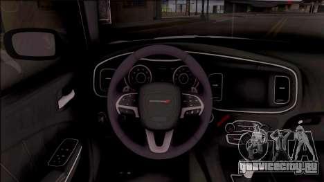 Dodge Charger RT 2016 для GTA San Andreas вид изнутри