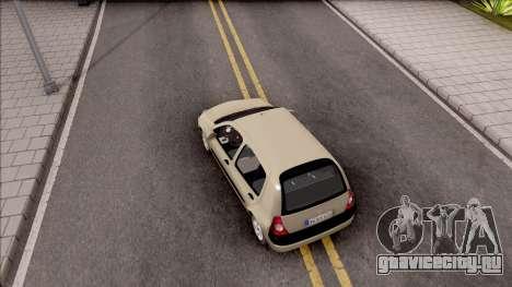 Renault Clio v1 для GTA San Andreas вид сзади