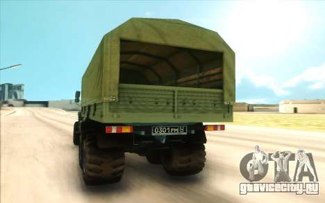 Урал NEXT Военный для GTA San Andreas вид справа