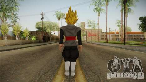 DBX2 - Goku Black SSJ2 v2 для GTA San Andreas третий скриншот