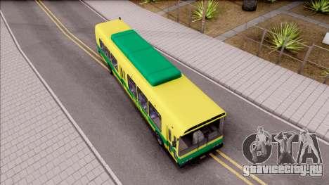 GTA V Brute Bus для GTA San Andreas вид справа