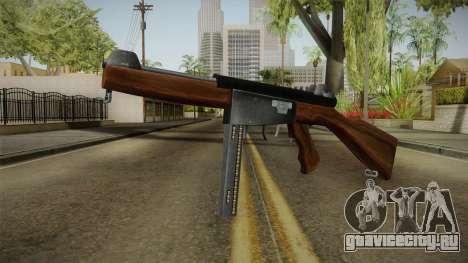 Ingram Model 6 SMG для GTA San Andreas