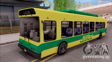 GTA V Brute Bus для GTA San Andreas