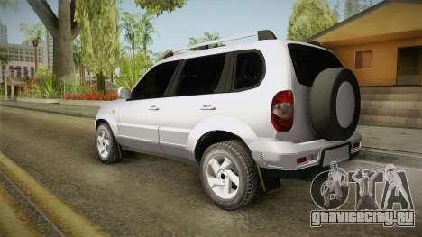 Chevrolet Vitara для GTA San Andreas вид слева