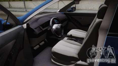 Hyundai Elantra 2008 для GTA San Andreas вид сбоку