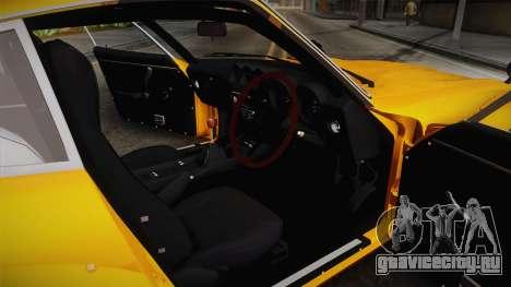 Nissan Fairlady Z 432 Rocket Bunny для GTA San Andreas вид изнутри