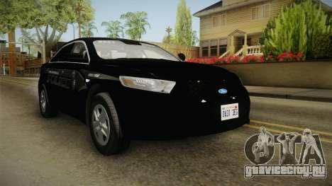 Ford Taurus Stealth 2016 YRP для GTA San Andreas