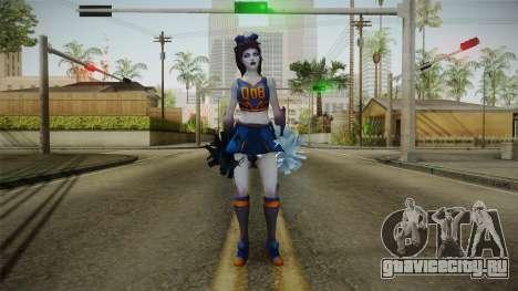 Cheer Captain Kerrigan v4 для GTA San Andreas второй скриншот